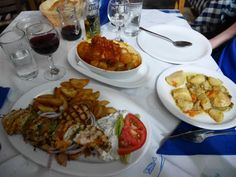 Restaurants in Parga, Greece. Where to eat in Parga, with pictures and prices.