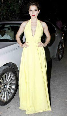 Kangana Ranaut at success bash of 'Tanu Weds Manu Returns'.