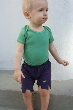 Diy hulk costume easy tutorial makeityourselfgirl incredible hulk baby costume solutioingenieria Choice Image