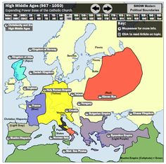 (2013-09) Interactive, historical maps of Europe