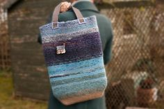 Very large Highland scenery shopper bag with movable by Cranachan, £99.00