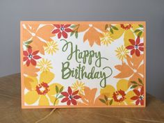 Blooms and Wishes Stampin Up Inspiring inkin Amanda Fowler