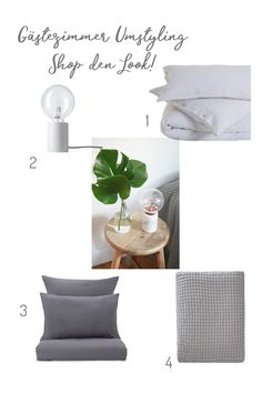 Ein neuer Look fürs Gästezimmer | URBANARA Make your home happy Minimalist Decor, Design Trends, Interiors, Interior Design, Table, Inspiration, Furniture, Home Decor, New Looks