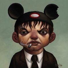 Loneliness Disguised - Mouseketeer Mac Bob Dob  My Modern Metropolis