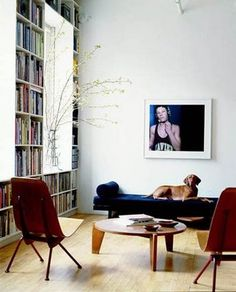 Books & vinyls till the ceiling... that's perfection for me - gorg