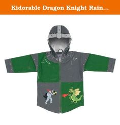Kidorable Dragon Knight Rain Coat (2T). Irresistible and eye-grabbing, our stylish, upscale coats are the core of the Kidorable ensemble. All styles are PVC with a comfortable polyester lining.