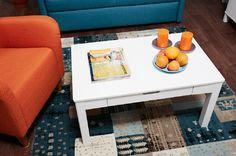 Laulumaa Huonekalut - Olohuoneet - Laulumaa Emilia® - sohvapöytä valkoinen