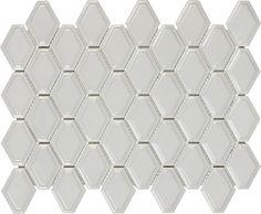 BPI Soho Convex Loft Warm Grey Glossy at kitchen backsplash Grey Backsplash, Kitchen Backsplash, Hex Tile, Tiles Online, Interior Paint Colors, Warm Grey, Glazed Ceramic, Porcelain Tile, Tile Design