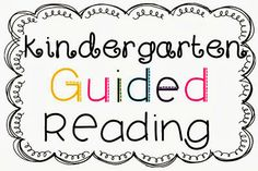 More for Guided Reading!