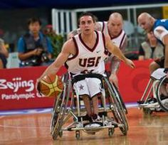 Steve Serio '10: Competing in 2012 Paralympic Games as part of Team USA's men's Wheelchair Basketball team; also member of 2008 Paralympic Team