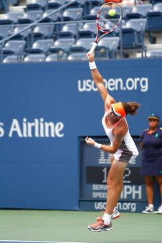 Samantha Stosur (AUS)[7] defeated Petra Martic (CRO), 6-1, 6-1, in the first round. - Philip Hall/USTA