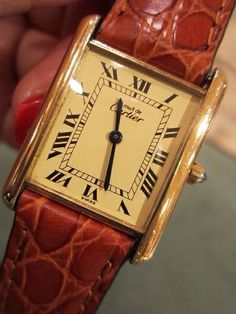 Cartier 1980 s Watch Antique