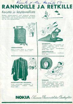 Erva-Latvala Oy #arkistot #archives #retkeily #retket #camping #kesä #summer #hiking #Nokia #vanhatmainokset Herbs