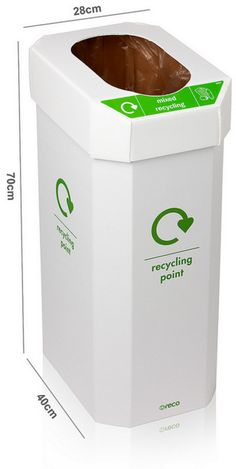 Office Recycling Bins Pack Of Office Bins Uk Cardboard Recycling Bins, Recycling Storage, Trash Bins, Home Office Design, Design Projects, Home Appliances, House Appliances, Appliances