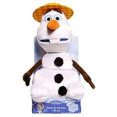 Disney Frozen Talking and Singing Olaf Plush *** Continue to the product at the image link. (This is an affiliate link) #StuffedAnimalsPlushToys
