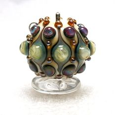 Handmade Lampwork  Art Beads by Jeanniesbeads by JEANNIESBEADS, $35.00