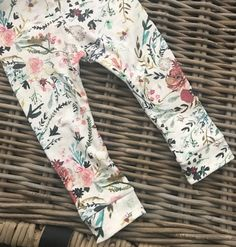boho floral Little Acorns, Knit Leggings, Floral Tie, Girl Outfits, Boho, Lady, Fabric, Closet, Style