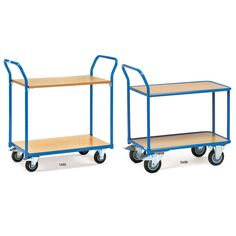 Ecoline Table Top Carts - 2 Tray Trolleys
