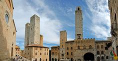 San Gimignano towers  http://www.charminly.com/a-journey-into-the-past-among-ancient-towers-and-parish-churcheses/