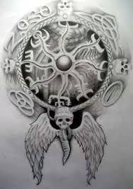Resultado de imagen de badass viking tattoos