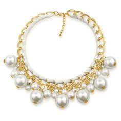 Kovový náhrdelník Silvego s bílými syntetickými perlami KMMN1886 Pearl Necklace, Pearls, Jewelry, Fashion, String Of Pearls, Moda, Jewlery, Jewerly, Fashion Styles