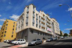 Exterior de la promoción de #viviendas nuevas en Pontevedra, #PlayaLérez. Pincha sobre la imagen y conoce otros detalles.