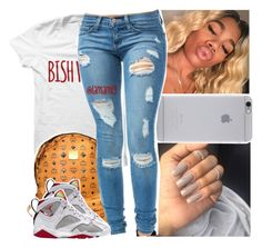 """zan w. that lean"" by lamamig ❤ liked on Polyvore featuring Native Union and MCM"