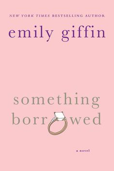 I love Emily Giffin's books! They are so cute. Again, the book is SO much better than the movie! (I am NOT a Kate Hudson fan. It might have something to do with not liking the movie?)