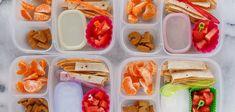 Recetas fáciles para la merienda de lo niños que pueden llevar al cole para el recreo.