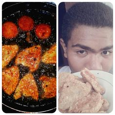 **Hi Lunch!! :) :D #Chicken #Nugget #Fried #Tuna #lunch #food #foodgasm