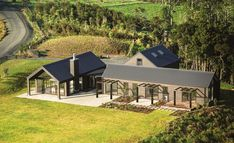 Here are the House Design Ideas Nz. This post about House Design Ideas Nz was posted under the Home Design … Looking For Houses, Rural House, Shed Homes, Container House Design, Future House, Modern Farmhouse, Building A House, House Plans, House Styles