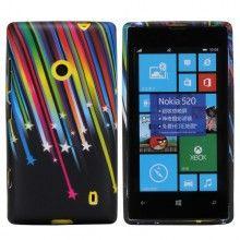 Funda Lumia 520 - Gel Meteoritos  $ 42,11
