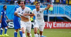 Italy vs Uruguay 2014 World Cup Highlights Goals GIFs Photos