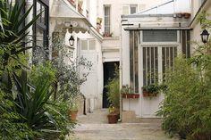 Paris Photography Parisian Courtyard Spring in by rebeccaplotnick #paris #courtyard #photography #rebeccaplotnick