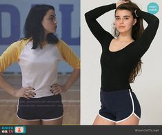 Betty and Veronica's training shorts on Riverdale. Outfit Details: https://wornontv.net/65420/ #Riverdale