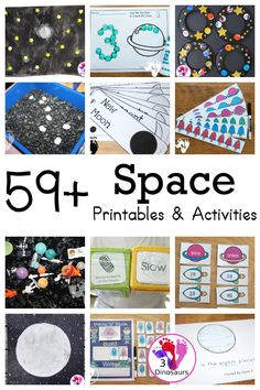 59+ Space Activities & Printables For Kids