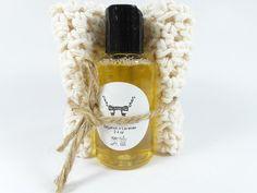 Liquid Soap and Facial Cloth Gift Idea Handmade by PurpleSage7