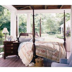 Elegant Straight Panel Rice Bedroom Set