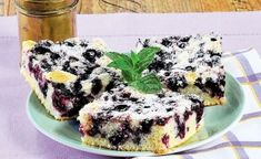 Borůvkový koláč z kefíru