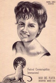 Argentina Retro: 1959 - Isabel Sarli. Culture and Tradition; in keeping with my memoir; http://www.amazon.com/With-Love-The-Argentina-Family/dp/1478205458