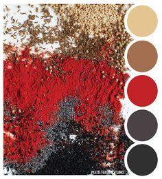 Pastel Feather Studio: SPICE TONES - color palette ►more find here: pastefeatherstudio.blogspot.com