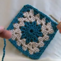 Circle Center Granny Square
