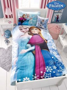 Buy Frozen Cotton Printed Bed Set from the Next UK online shop