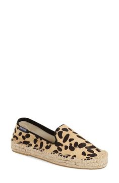 10f87ca4a040 Soludos Genuine Calf Hair Espadrille Platform Slip-On (Women) available at   Nordstrom