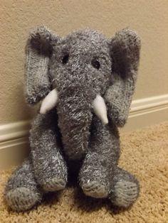 Crafty Doll Animalia Umla Recycled Sweater Elephant