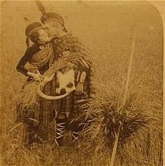 Vintage kilt and dress...amazing old photo Scottish Dress, Scottish Clothing, Men In Kilts, Scotland History, Scotland Kilt, Scotland Travel, Scottish People, Highlanders, Scottish Highlands
