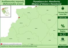 Reforestable areas - Western Macedonia
