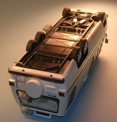Repstock uploaded this image to 'GMC Motorhome Project'. See the album on Photobucket. Gmc Motors, Gmc Vans, Gmc Motorhome, Expedition Truck, Model Cars Kits, House On Wheels, Campervan, Scale Models, Motor Homes