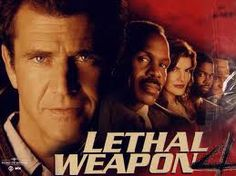 I love the Lethal Weapon movies... Who wouldn't love Mel Gibson?