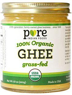 Grassfed Organic Ghee 7.8 Oz - Pure Indian Foods(R) Brand... https://www.amazon.com/dp/B0032RPLSY/ref=cm_sw_r_pi_dp_x_rXJHybWAYJJCF